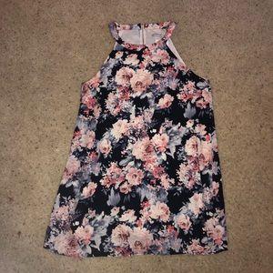 Dainty Hooligan floral tank dress, NWT